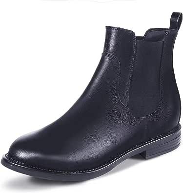 Stivali da donna, comodi stivaletti alla caviglia, alla moda, classici, per adulti