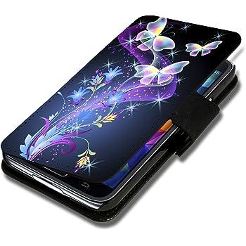 Book Style Flip Handy Tasche Case Schutz Hülle Schale Motiv Foto Etui für ZTE Blade L3 - X9 Design8