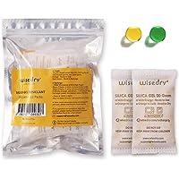 wisedry 20 Gram [12PACKS] Sachets déshydratants de gel de silice rechargeables Sachets déshydratants Orange à vert…