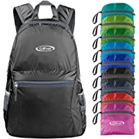 G4Free 20L Ultra Lightweight Foldable Backpack Packable Water Resistant Daypack for Outdoor Walking Camping Traveling…