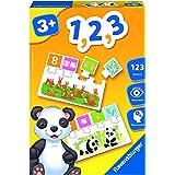 Ravensburger- Jeu Educatif- 1, 2 ,3- apprentissage des chiffres- A partir de 3 ans- 24045