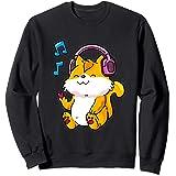 Kpop Chat Anime Kawaii Neko Mignon Cadeaux Pour Les Enfants Sweatshirt