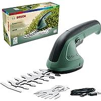 Bosch Gartenschere EasyShear (integrierter 3.6 V Akku, Akkulaufzeit: 40 min, Messerlänge: 12 cm (Strauch) / 8 cm (Gras…