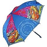 SRV Hub - Paraguas para niños con estampado de personajes transparentes POE Brolly para unisex de 3 años