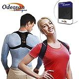 Odeosan Clinique Corrector de Postura para Espalda, Hombro y Clavícula Hombre y Mujer   Soporte Ajustable Unisex de Calidad p