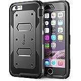 i-Blason Coque iPhone 6 Coque iPhone 6S [Série Armorbox] Coque Complète Antichoc avec Protecteur d'écran Integré pour iPhone 6 et iPhone 6S 4.7'', Noir
