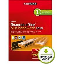 Lexware financial office plus handwerk 2018 Download Jahresversion (365-Tage) [Online Code]