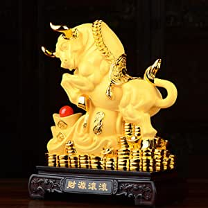 Details about  /Chinese Pure Copper Bronze Lucky Zodiac Bull Ox Statue Figurine Amulet Pendant