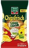 funny-frisch Chipsfrisch Sour Cream und Wild Onion 175 g, 10er Pack (10 x 175 g)
