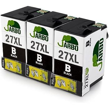 JARBO Ersetzt für Epson 27XL 27 Druckerpatronen (3x