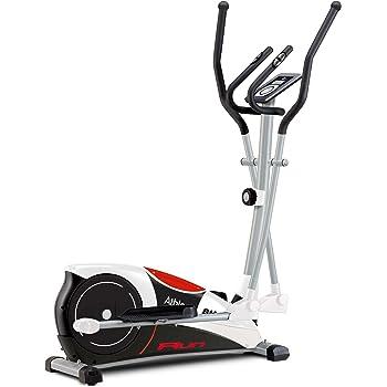 BH Fitness Athlon Run G2334RF - Bicicleta elíptica - 10 Kg Sistema inercial - Monitor LCD - Ruedas de Transporte