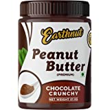 Earthnut Chocolate Peanut Butter Crunchy 1kg (Chocolate Flavor) (Gluten Free | Vegan) | Made with Roasted Peanuts, Cocoa Powd