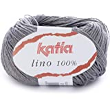 Katia Yarns, Grey, 29 - LINO 100