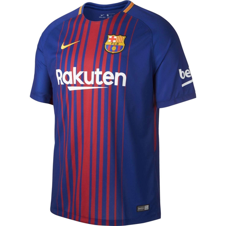 Nike FCB M Nk BRT Stad JSY SS Hm Camiseta 1ª equipación FC Barcelona 17-18 4fe3d9b84b066