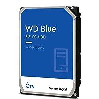 Western Digital WD60EZAZ 6 TB (256 MB, 3,5 Zoll / 8,9 cm, SATA, 6 GB/S, 5400 RPM)