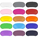 Dreamtop - Juego de 15 antifaces multicolor para dormir, con almohadilla para la nariz, para mujeres, hombres, niños, viajes,