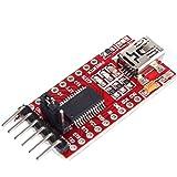 tinxi® FT232RL FTDI USB a Serial TTL módulo Adaptador convertidor 5V 3.3V para Arduino