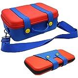 Custodia da trasporto compatibile con Nintendo Switch, custodia protettiva per custodia rigida per console Nintendo Switch e