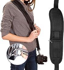House of Quirk Shoulder Sling Strap for Camera (Black)