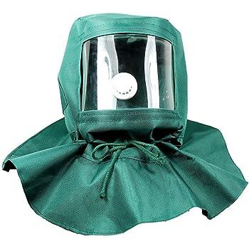 Bestomz sablage hotte abrasive SandBlaster Masque Cap Vent poussière  protection anti Outil bc3c67984b69