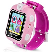 AGPTEK Smartwatch Montre Intelligente pour Enfant avec Caméra de 90 Degré et Jeux, Vidéo, Audio, Chronomètre…