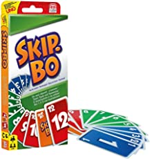 Mattel Games 52370 - Skip-Bo Kartenspiel