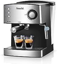 Saachi NL-COF-7056 Coffee Maker/Machine - Silver