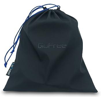 FREEGO GoFree Universal Drawstring Headphone Protection Pouch Bag, 23.5x28cm (Midnight Black, GF_DrPou_HeadP)