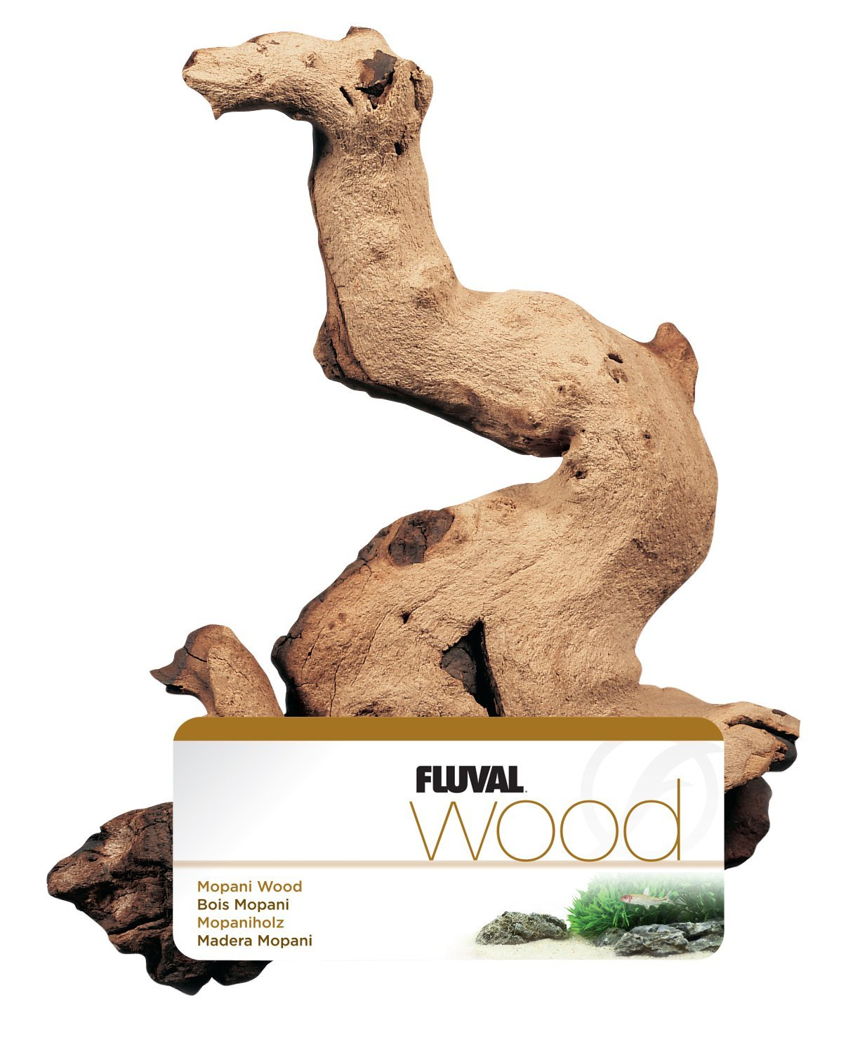Marina Aquarium Mopani Driftwood Ornamental Root Décor, Small