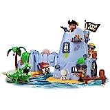 Pinypon Action- Isla Pirata del Capitán Caimán con 2 Figuras, niñas de 4 a 8 años (Famosa 700015637)