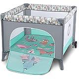 Lionelo Sofie 3 in 1 Box bambini pieghevole box neonati lettino da viaggio dalla nascita fino a 15 kg con entrata laterale bo