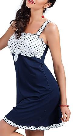 Donna hochwertiges Damen Nachtkleid Negligee Babydoll Nachthemd Dessous