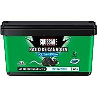 CAUSSADE CARPT720 Raticide Canadien Pat'Appât Fortes Infestations | 72 pâtes | Lieux Secs | Lieux Humides | Hyper…