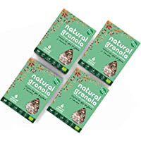 Granola Bacche di Goji, Zenzero e Cannella - Natural Athlete - Frutta secca e Semi 100% naturale - BIO - Senza Glutine- Senza lattosio -Senza Zuccheri Aggiunti. Pack 4x325g