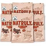NATRULY Beef Jerky Pikant, Gedroogd Vlees 100% Rundvlees, Gluten-, Lactose- en Geraffineerde Suikervrij, Zonder Kunstmatige -