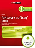 Lexware faktura+auftrag 2018 basis-Version PC Download (Jahreslizenz)|Einfache Auftrags- und Rechnungs-Software für alle Branchen|Kompatibel mit Windows 7 oder aktueller