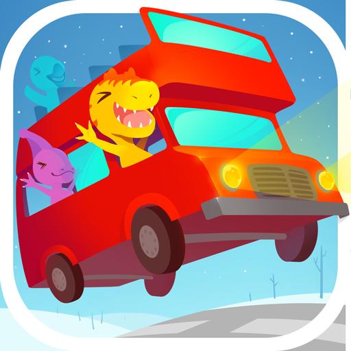 Dinosaur Bus Free