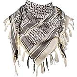 FREE SOLDIER Halstuch/Kopftuch Shemagh,100% Baumwolle Palituch Taktischer Schal Arabischer Wüsten Schals Unisex…
