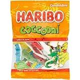 Haribo Coccodrì Caramelle Gommose Morbide al Gusto di Frutta, a Forma di Coccodrillo, 175g