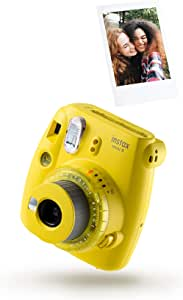 Instax Mini 9 Clear Camera With 10 Shots Yellow Camera Photo