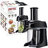 Imetec Sp 100Spiralizer Électrique, Coupe-Légumes Spirale, Trancheuse à Légumes en 3Formes, Lames en Acier Inoxydable, Réci