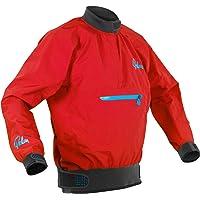 Palm Kayak or Kayaking - Vector Kayak Coat Jacket Coat Red - Lightweight. Waterproof & Breathable