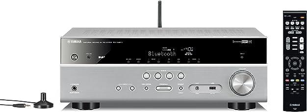 Yamaha AV-Receiver RX-V481 (4K UltraHD, AirPlay, Bluetooth, DAB+, DLNA, Lautsprecher A/B-Schaltung, WLAN) titan