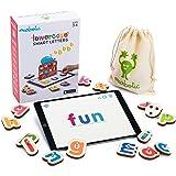 Marbotic - Lowercase Smart Letters pour iPad - De 3 à 5 Ans - Set de Lettres Interactives en Bois - Jeux Éducatifs Manuels po