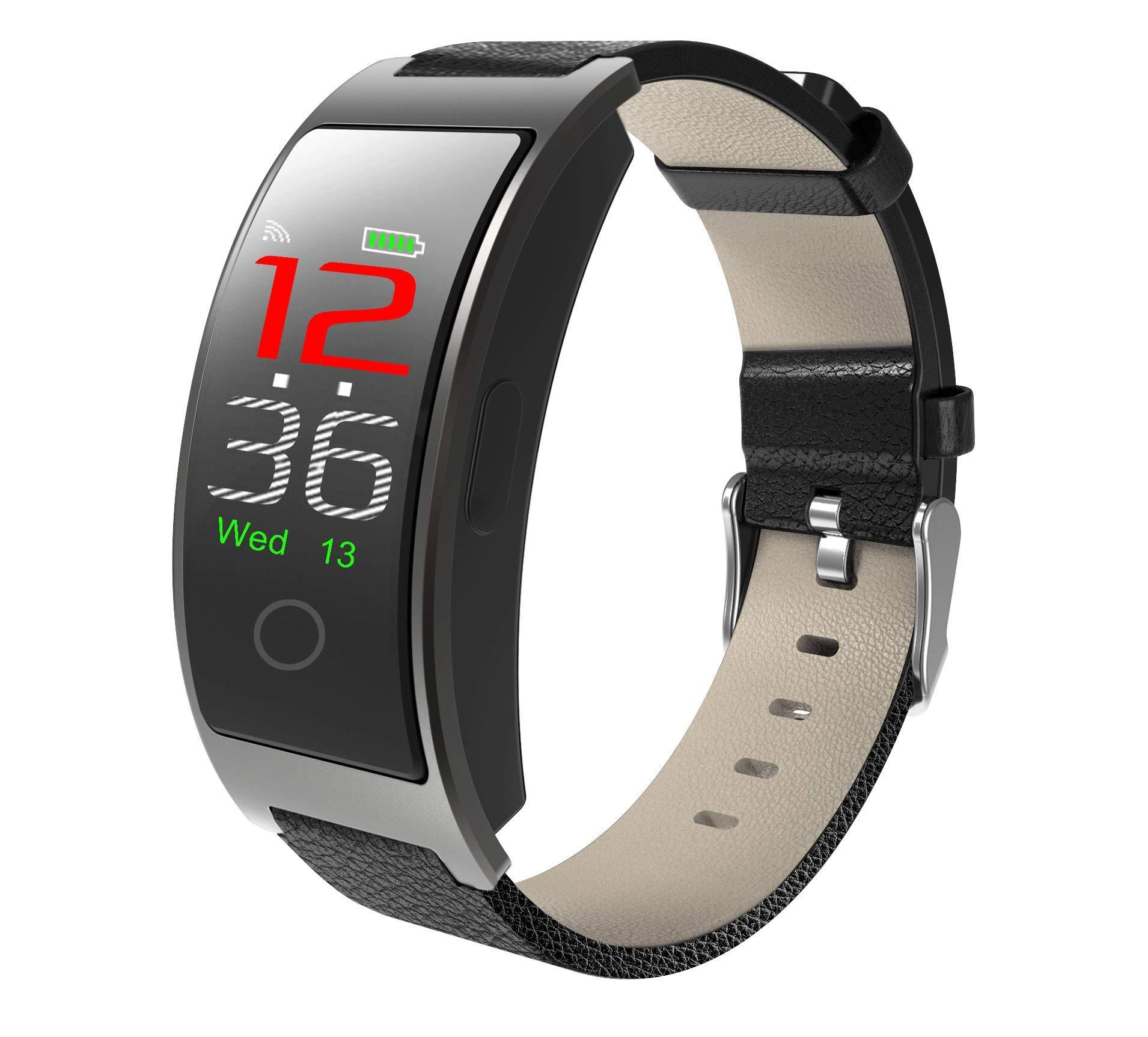 SPORS Fitness Tracker cinturón Impermeable Ritmo cardíaco presión Arterial sueño Monitor podómetro Reloj Inteligente… 2
