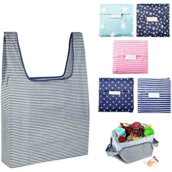 4688774567 Polyester Shopping Bag Reusable Grocery Bags Foldable for Outdoor