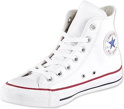 Converse All Star Hi Leather Sneakers Nero Monocromatico