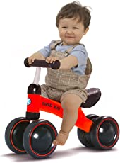 Webby Q1+ Baby Balance Bike Learn to Walk No Foot Pedal Riding Toy (Multicolour)