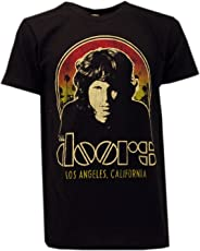 T-Shirt die Doors mit Jim Morrison Schwarz Original Offiziel Rock Musik
