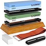 Razorri Solido Kit de pierre à aiguiser pour couteau (Plate Base)